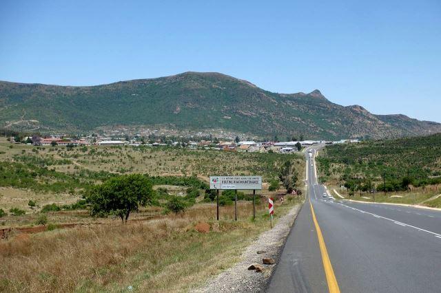 [Mount Ayliff]Příjezd do města