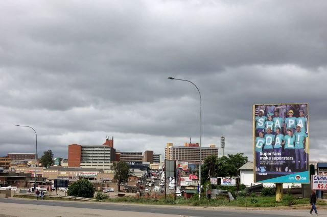 [Mthatha]Městské centrum