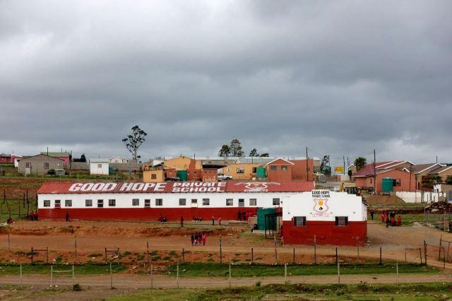 [Křižovatka na Coffee Bay]Základní škola Dobrá naděje