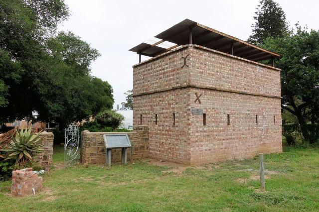 [Fort Hare]Pozůstatek původní pevnosti v areálu univerzity