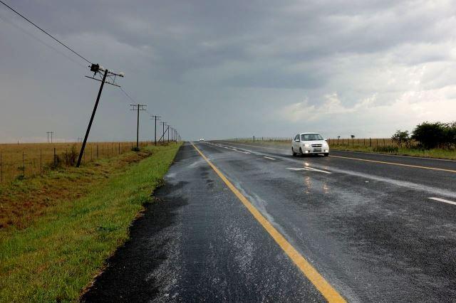[Poblíž Adelaide]Silný déšť na chvilku přestal