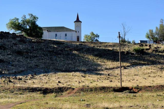 [Trompsburg] Kostel na kopci