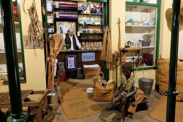[Bloemfontein] Národní muzeum - ulice města před 100 lety
