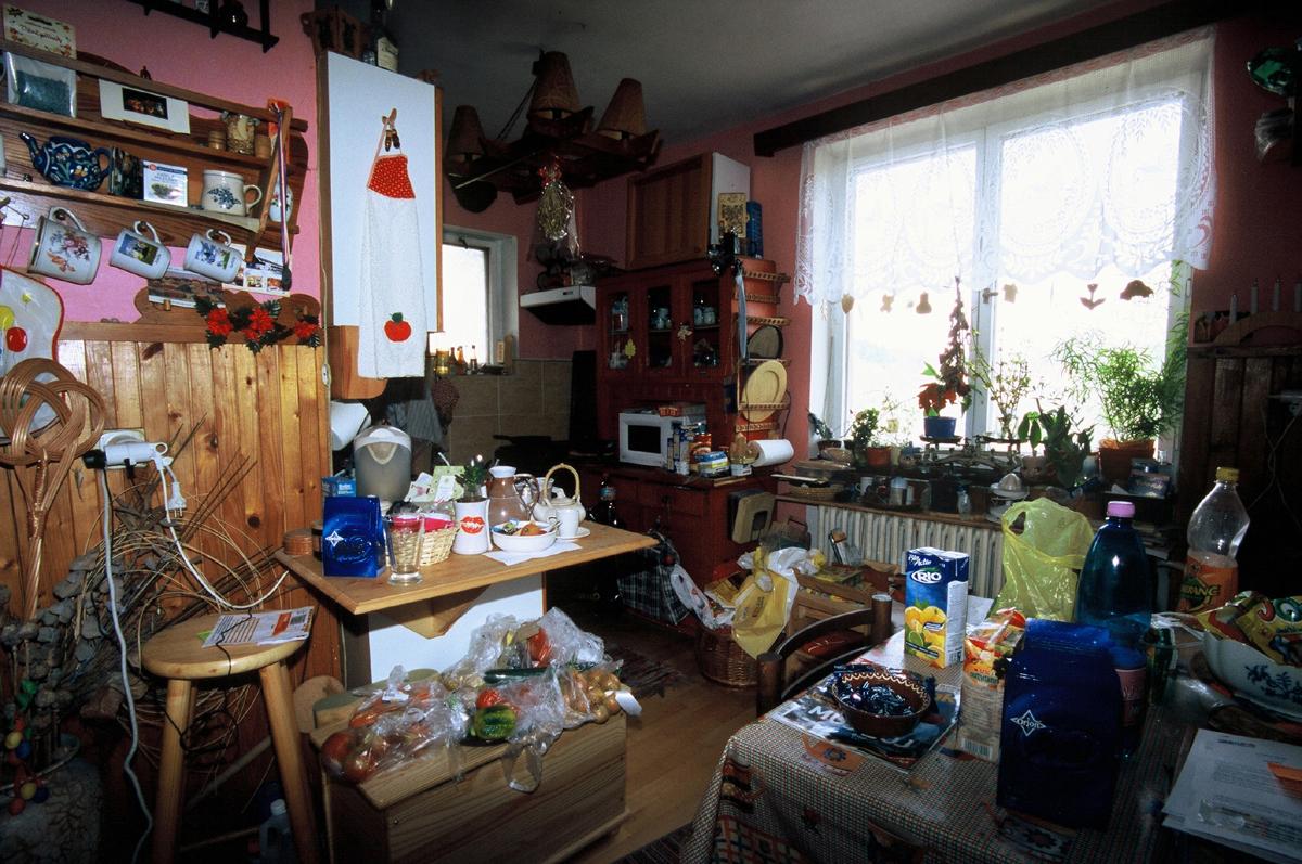 Kuchyň /photo Kateřina Malá