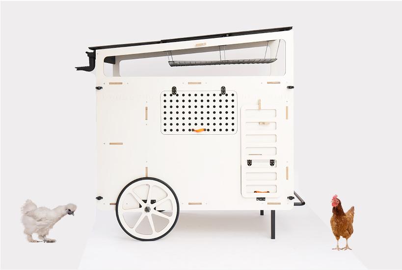 Mobilní Designový kurník