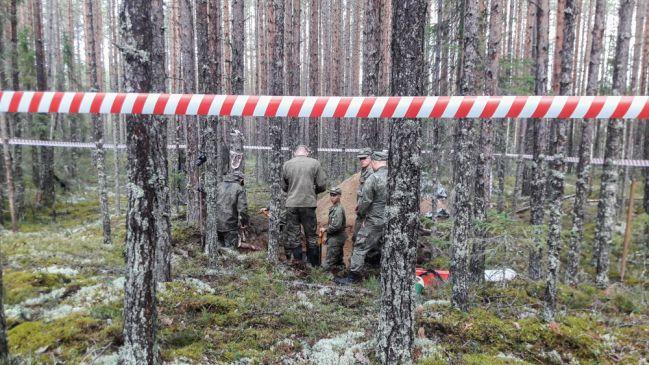 Expedice Ruské vojensko-historické společnosti v Sandarmochu. Foto: RTVI