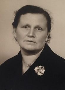 Ludmila Plichtová v pozdějším věku...