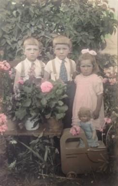 děti manželů Plichtových