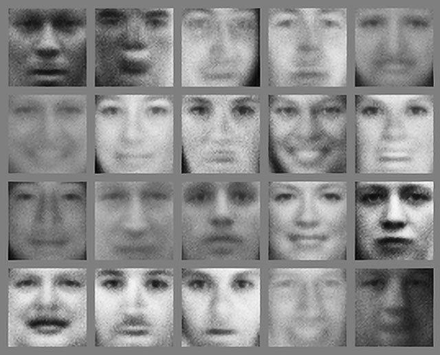 NVIDIA - počítačem generované obličeje - 2014