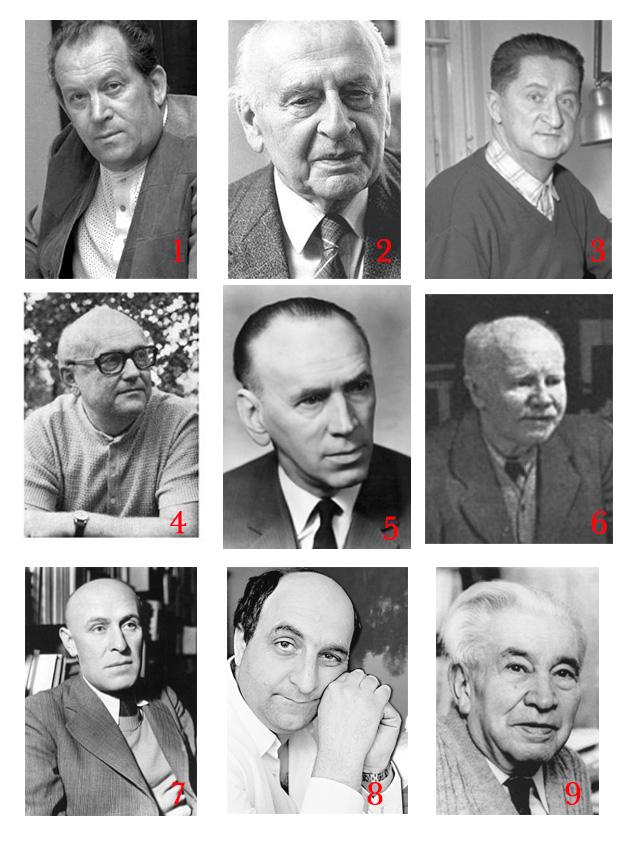 Čeští spisovatelé 20. století.