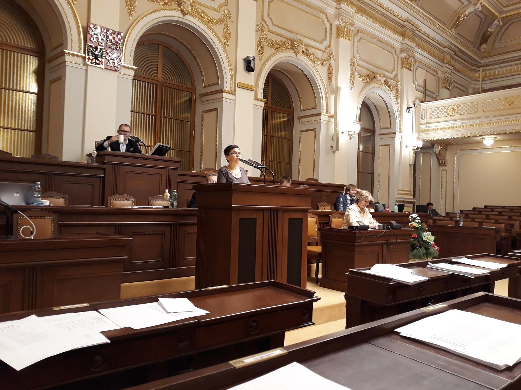 Takto vypadá Sněmovna o ústních interpelacích.
