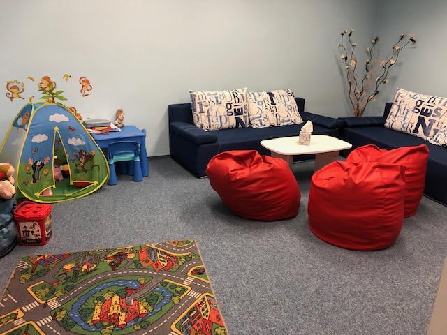 V takové kanceláři si děti mohou připadat jako doma.