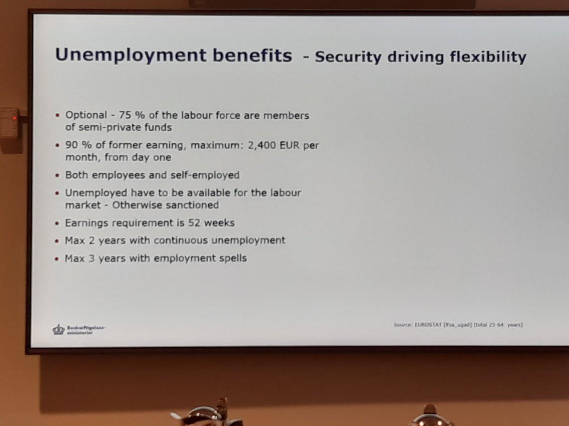 Vysoká podpora v nezaměstnanosti vyrovnává snadné podmínky pro rozvázání pracovního poměru.