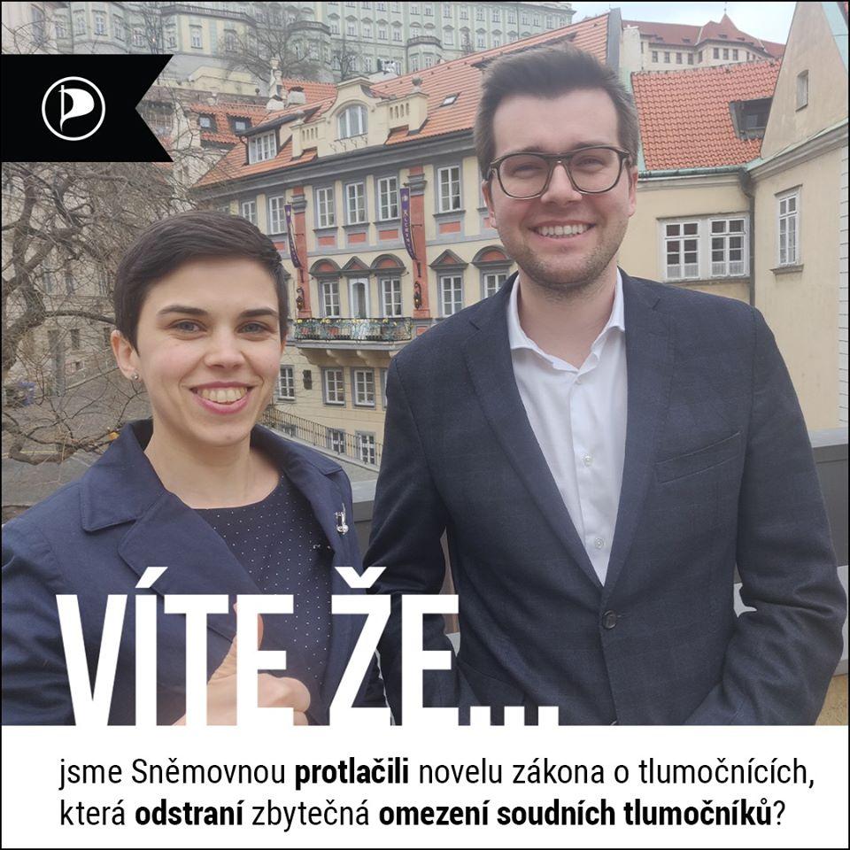 Jakub Michálek předkládal pozměňovací návrhy, které vládní koalice zamítla. Tak se nám povedlo je dostat do velké novely :-).