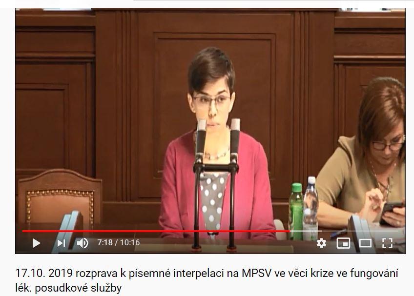 Na mém YouTube kanálu - odkaz na konci blogu - najdete záznam z řešení LPS ve Sněmovně.