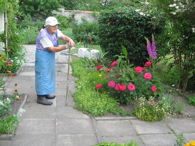 Pracovitá maminka se příštího léta s rozkvetlými kytkami již nedožila. Teta Jitka zemřela rok po ní.
