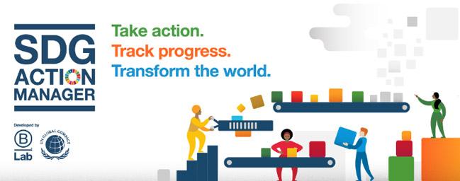 SDG Action Manager pro firmy, zdroj: B Corporation